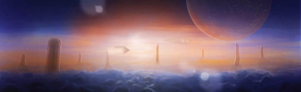 Concept image: above the tempest (2020)